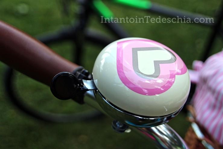 bicicletta baviera campanello cuore