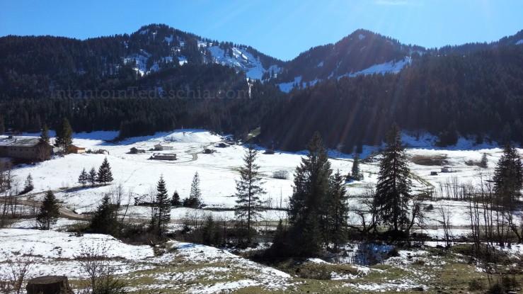 Spitzingsee Baviera Turismo Montagna Lago Camminate